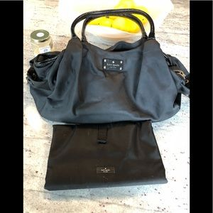 Kate Spade diaper bag and changer